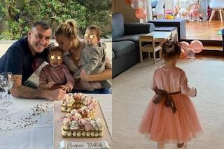 Costanza Caracciolo, la figlia Stella in tutù rosa compie 2 anni: la festa a casa è a tema unicorni