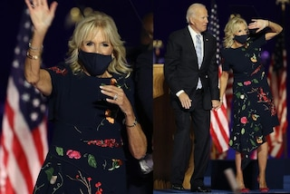 Effetto Jill Biden, l'abito a fiori per la prima volta da First Lady va sold-out in poche ore