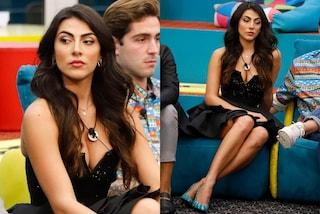 GF Vip 2020, puntata 17: Giulia Salemi è una principessa dark, il look nero vale quasi 2mila euro