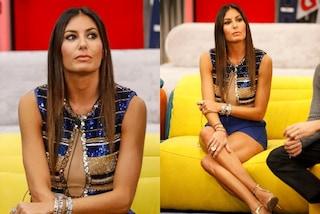 GF Vip 2020, puntata 21: Elisabetta Gregoraci osa con le paillettes, il body costa oltre 500 euro