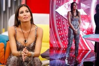 GF Vip 2020, Elisabetta Gregoraci col total look animalier: la puntata 17 è con orecchini di lusso