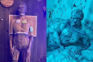 Heidi Klum regina di Halloween anche in pandemia: nel 2020 si trasforma in zombie per un film horror