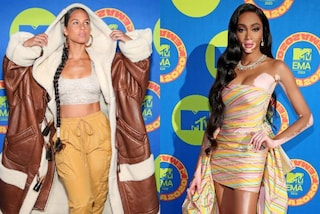 Mtv EMA's 2020, i look delle star sul red carpet: da Alicia Keys col montone a Winnie Harlow in mini