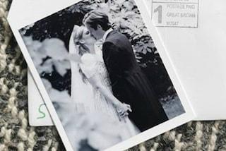 Beatrice di York ed Edoardo Mapelli Mozzi, la romantica foto del primo bacio nel giorno delle nozze