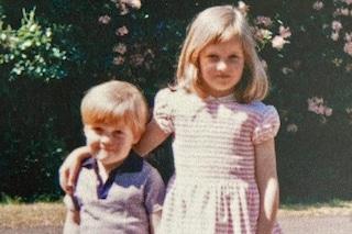 La principessa Diana da bambina: la dolce foto col fratello commuove il web
