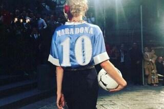 Quando Maradona fu celebrato dalla moda: prima Louis Vuitton poi Dolce&Gabbana