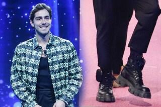 Tommaso Zorzi al GF Vip 2020 indossa anfibi di lusso da più di 1000 euro