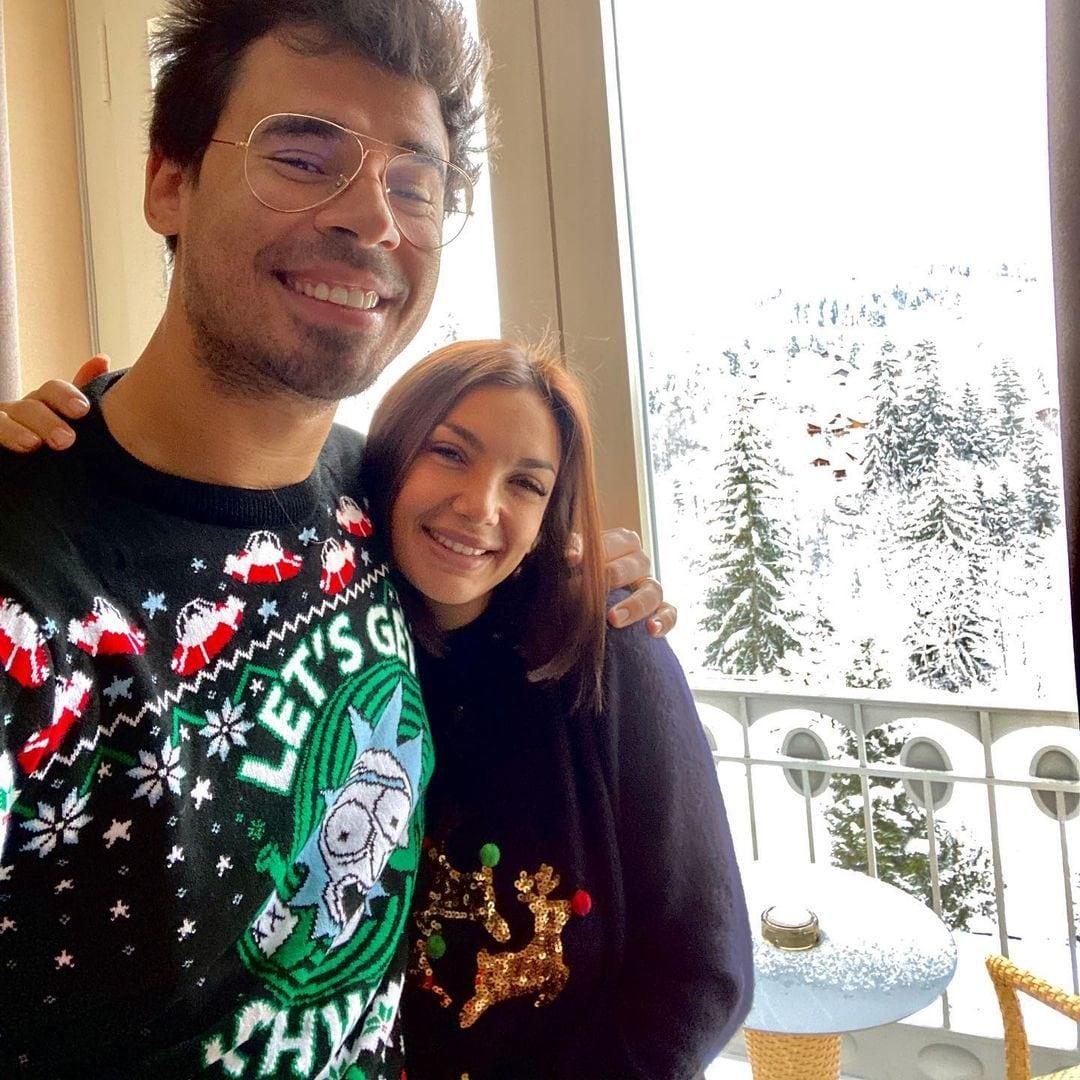 Il primo Natale da sposati di Elettra e Nick