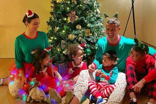Da Georgina Rodriguez a Victoria Beckham, il Natale delle celebrities è coi pigiami coordinati