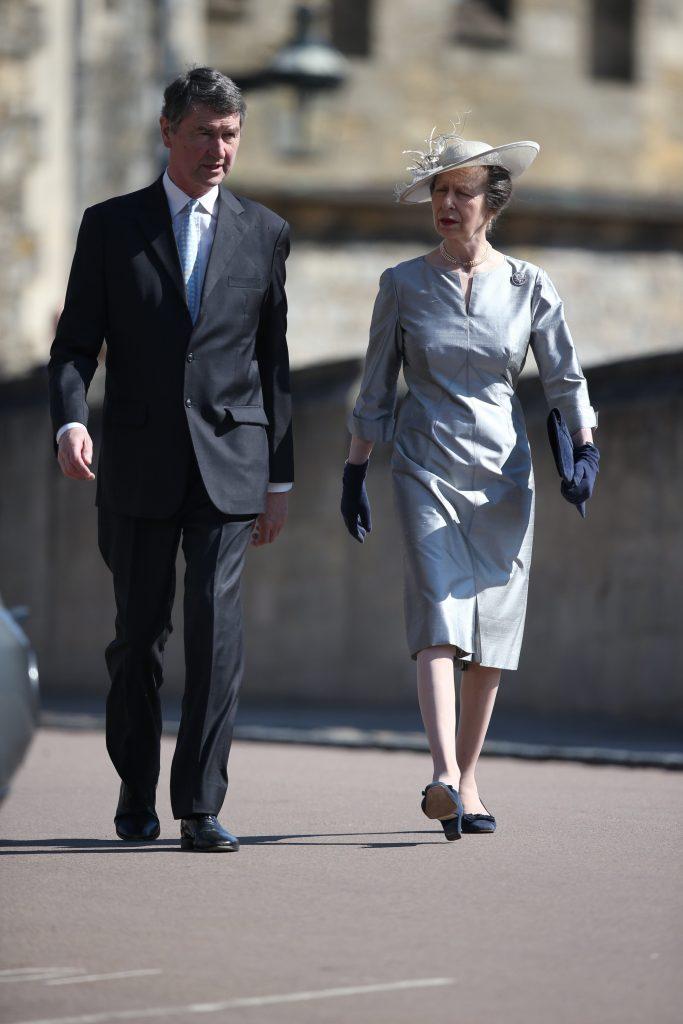 La principessa Anna e il marito Timothy Laurence