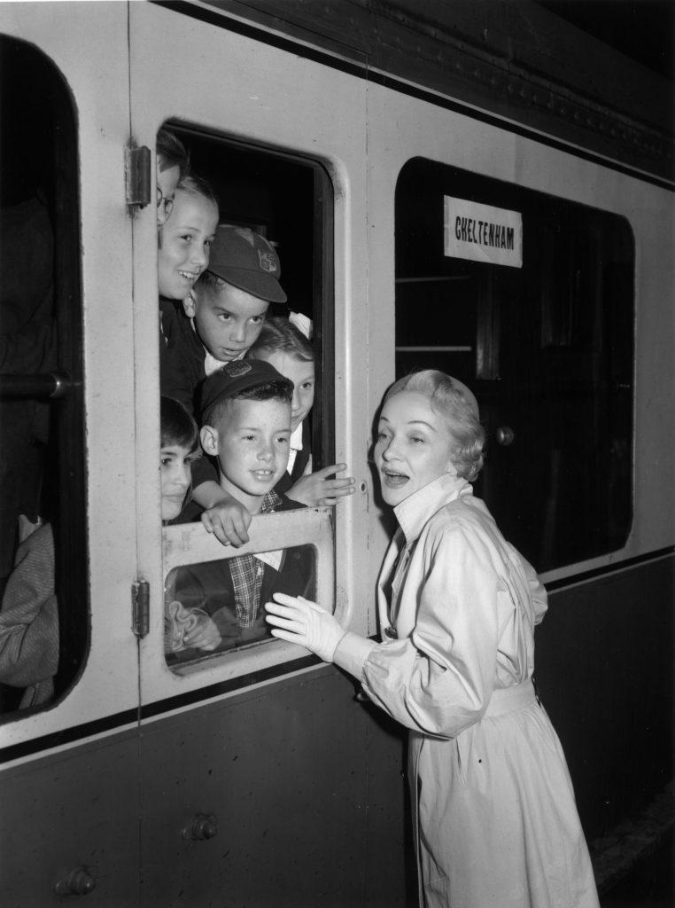 Marlene Dietrich nel 1955