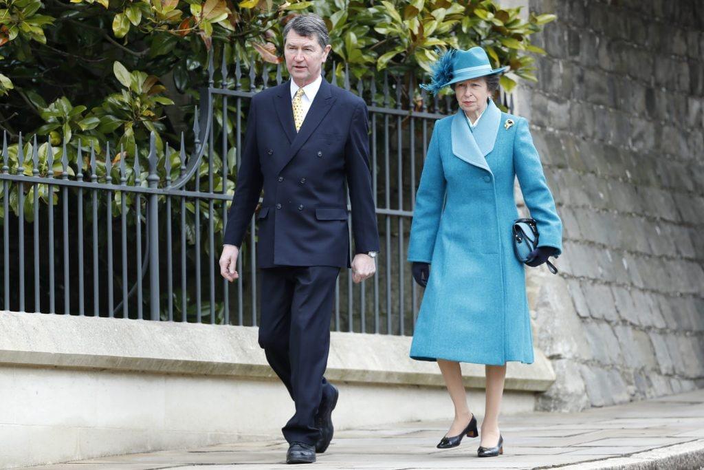 La principessa Anna con Timothy Laurence nel 2018