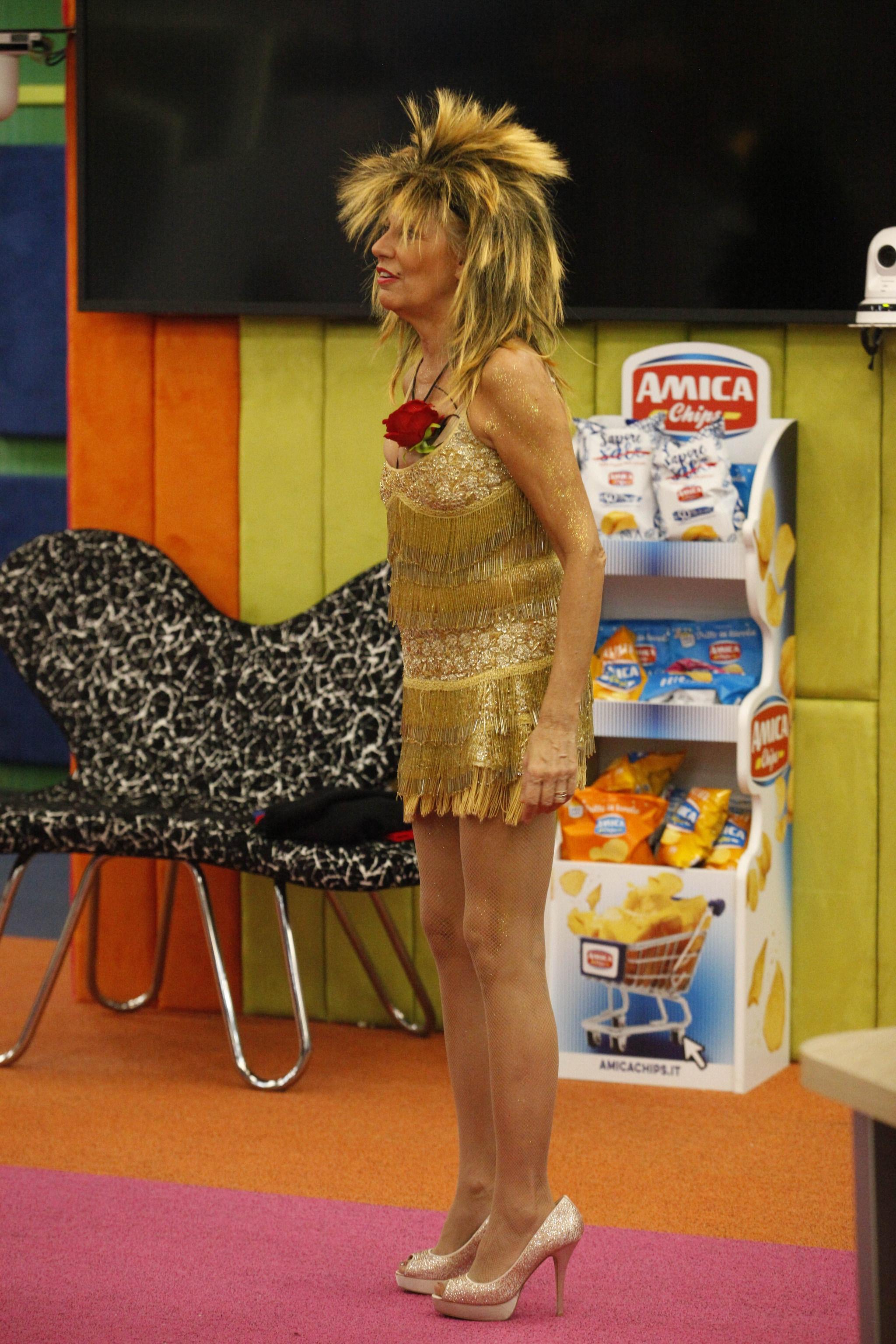Maria Teresa Ruta interpreta Tina Turner
