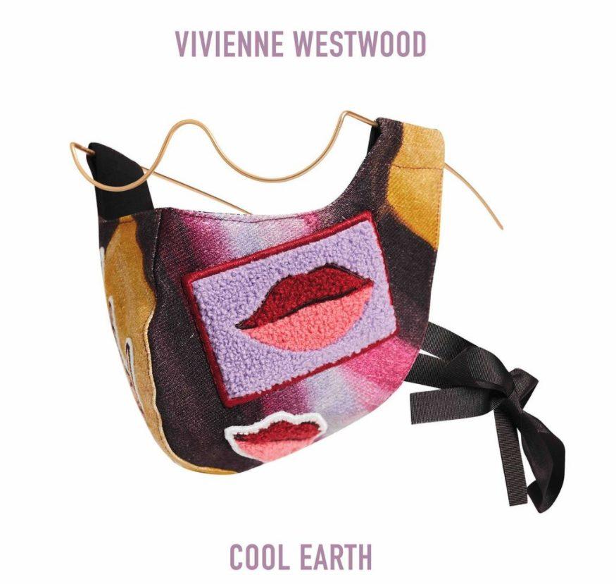 La mascherina disegnata in edizione limitata da Vivienne Westwood per Wires