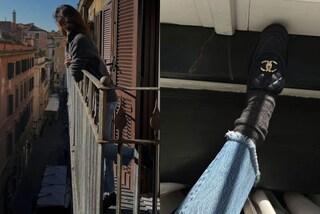 Belén lancia il trend dell'inverno 2020: ora i mocassini (griffati) si indossano con i calzettoni