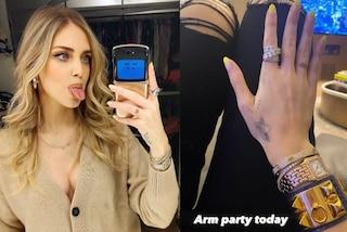 Chiara Ferragni ha dei nuovi gioielli di lusso: orologio e bracciali valgono quasi 100mila euro