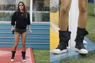 """GF Vip 2020: Elisabetta Gregoraci con le scarpe """"concettuali"""" da 1700 euro"""