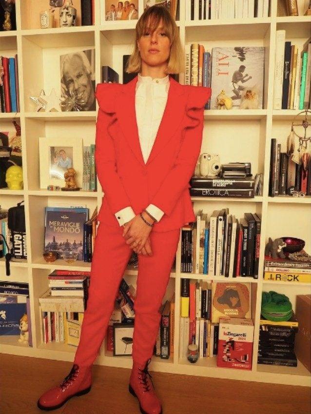 Il look natalizio di Federica Pellegrini