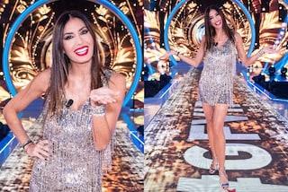 GF Vip, puntata 28: Elisabetta Gregoraci splende in argento: il look sparkling vale quasi 2mila euro