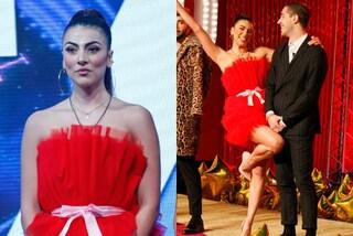 GF Vip 2020, Giulia Salemi in versione natalizia: l'abito di tulle rosso è perfetto per le feste