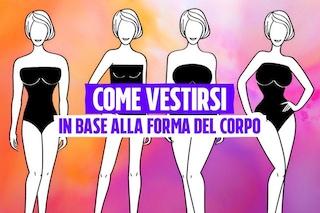 Abiti giusti per la forma del corpo: valorizziamo seno e fianchi coi consigli di Rossella Migliaccio