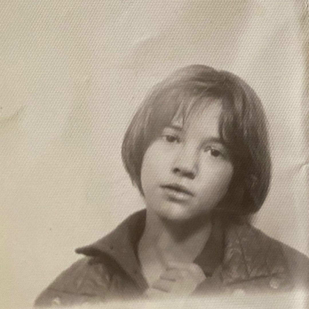 Una foto di Asia da bambina