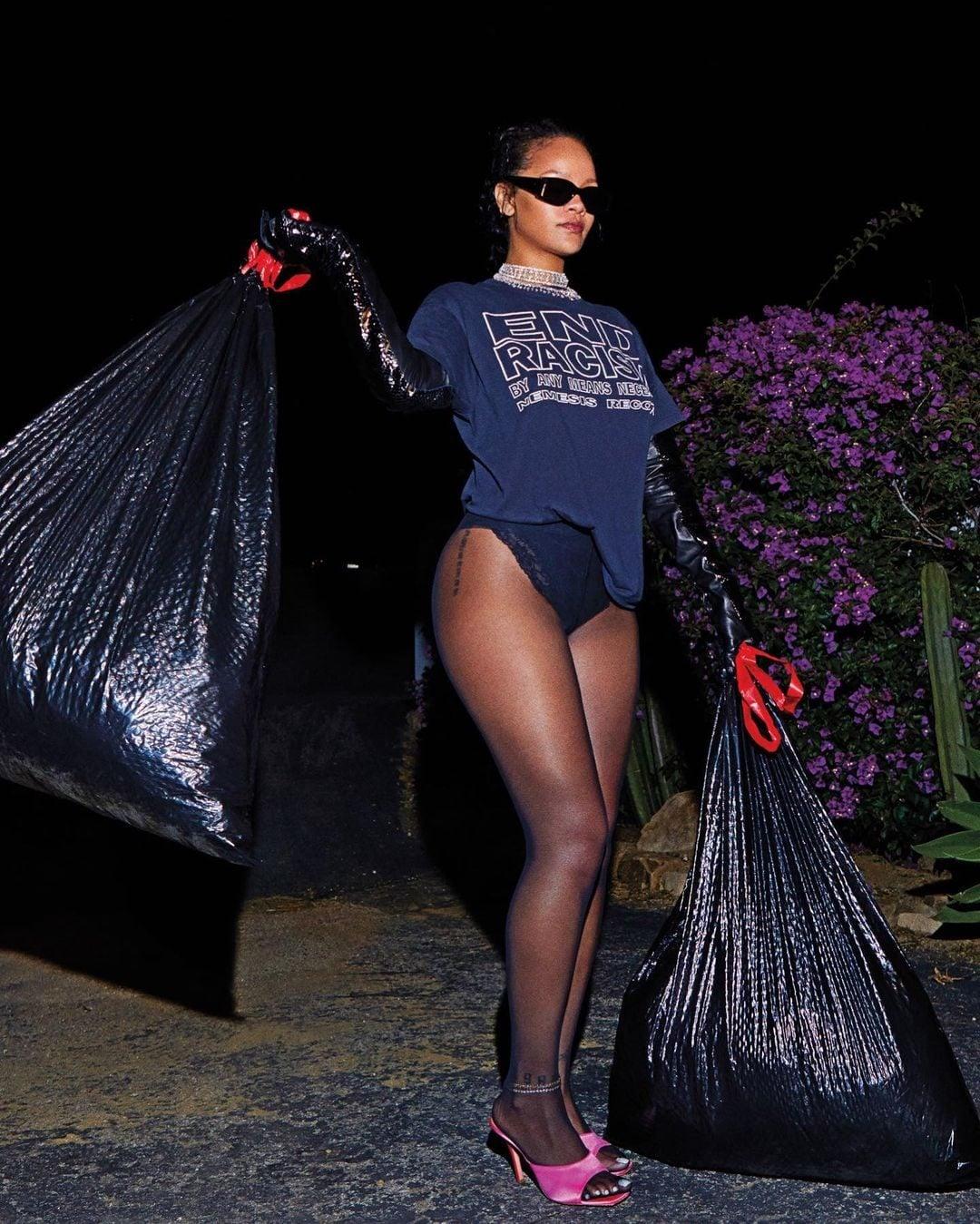 La t–shirt di Rihanna ha un significato simbolico