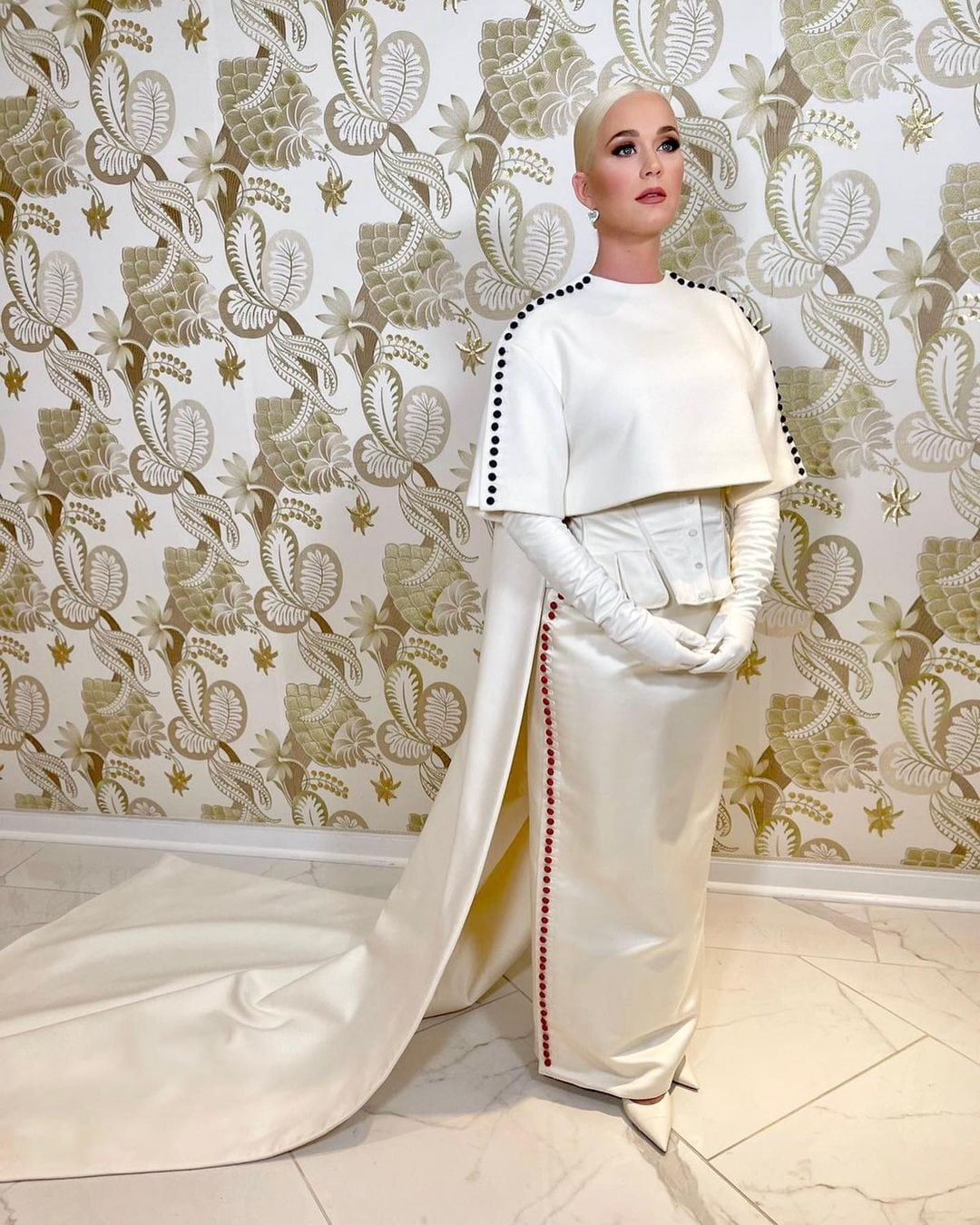 Katy Perry, il look per l'Inauguration Day