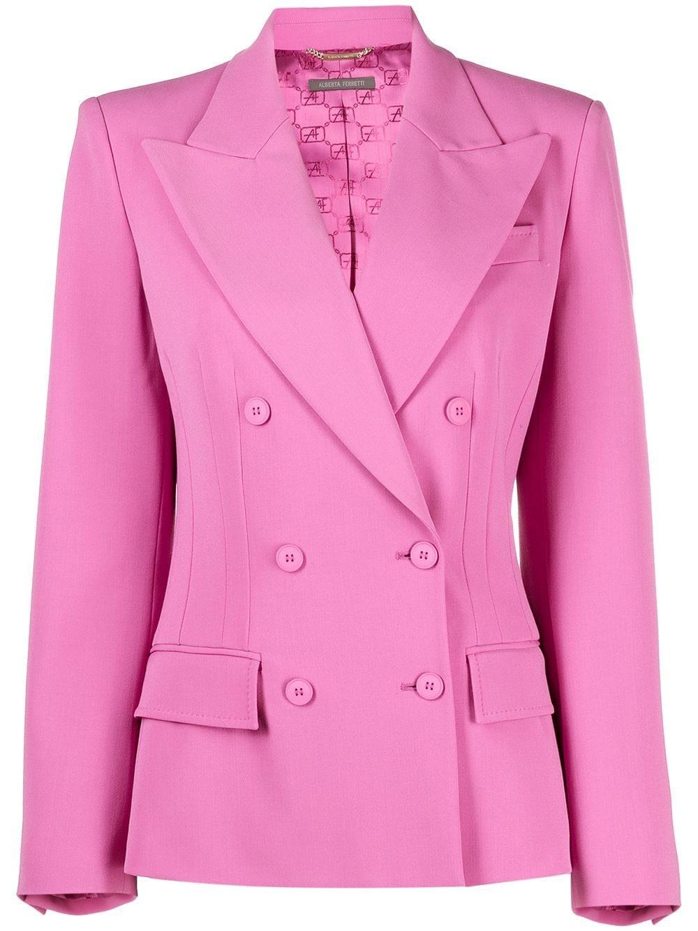 La giacca rosa di Alberta Ferretti