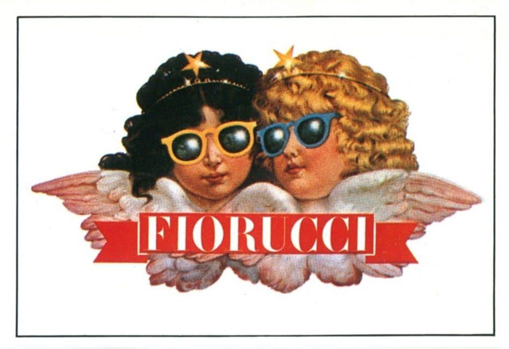 Una rivisitazione degli angeli del logo Fiorucci
