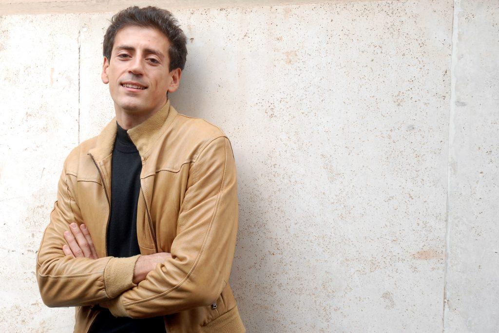 L'attore Gaetano Bruno, che nella serie interpreta Walter Albini