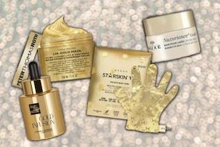 Bellezza a base di oro: i cosmetici che contrastano l'invecchiamento e illuminano la pelle