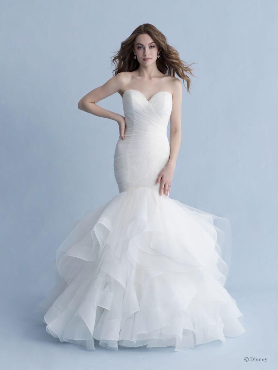 L'abito da sposa Ariel