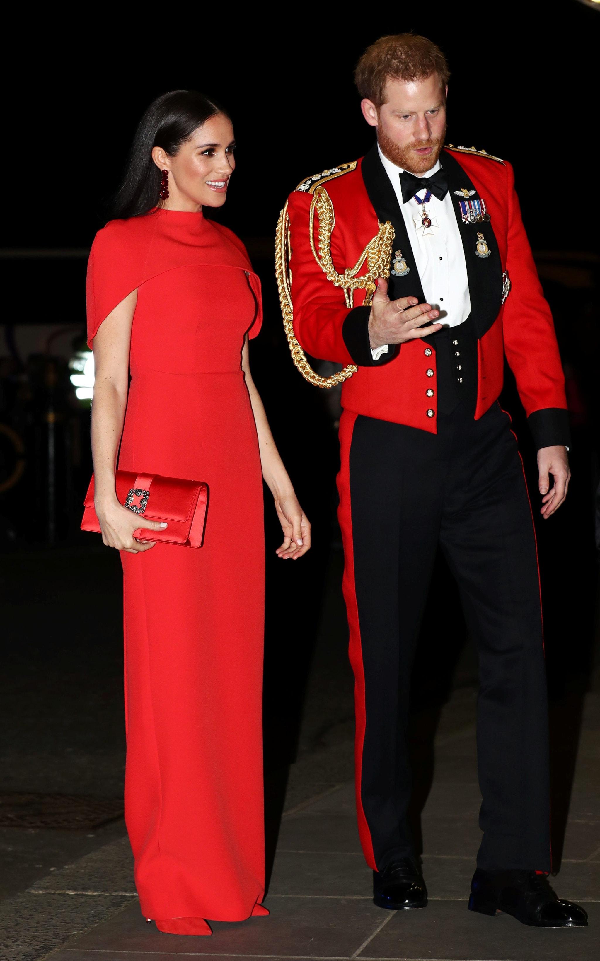 Meghan Markle con il marito Harry