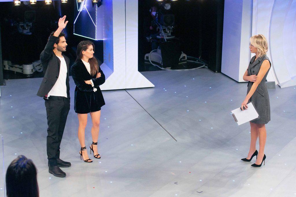 Maria De Filippi con Marco Bocci e Giulia Michelini