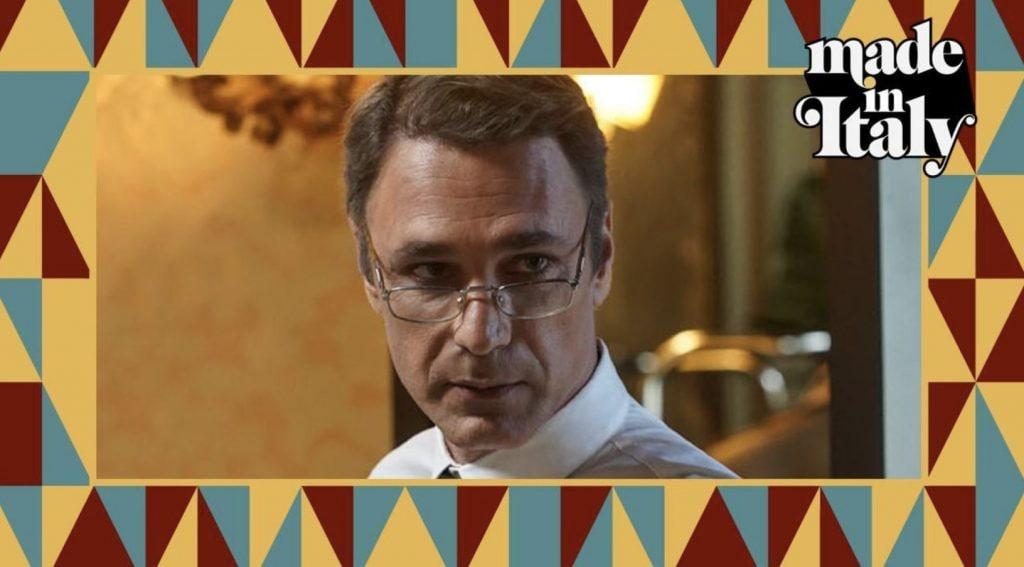 Raoul Bova nel ruolo di Giorgio Armani