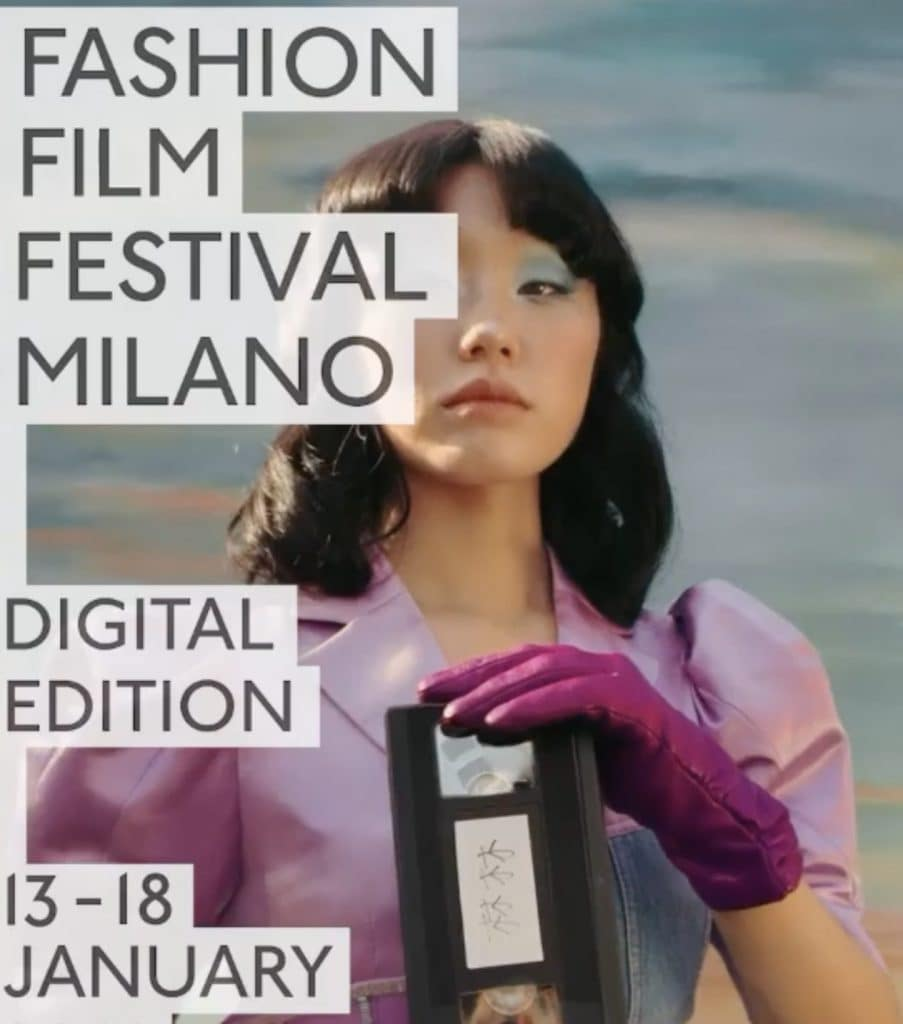 La locandina del Fashion Film Fest 2021