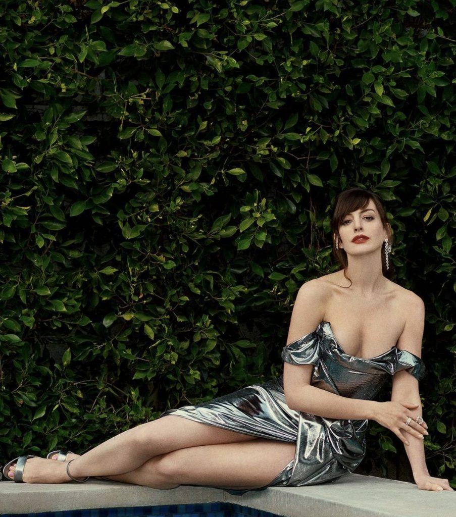 Anne Hathaway in Vivienne Westwood