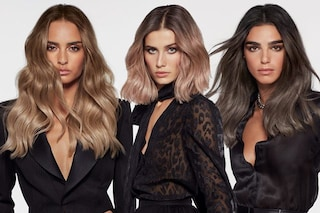 Smoky hair, le sfumature fredde per i capelli dell'inverno che si ispirano al make up