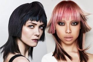 Tendenze capelli: è il momento dell'hime cut, il taglio geometrico per i capelli lisci