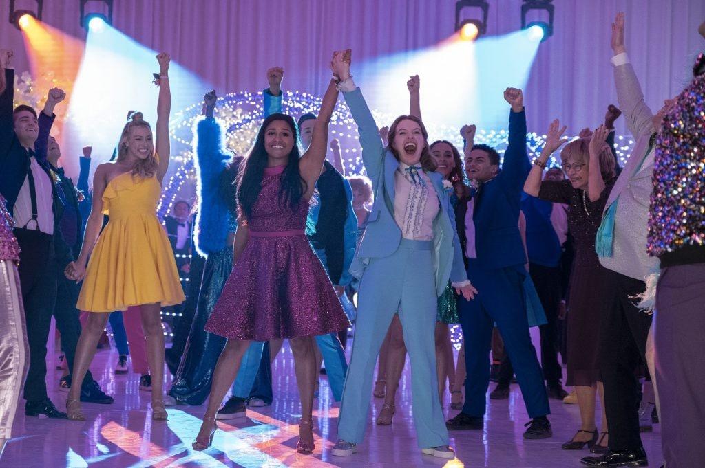 una scena di The Prom