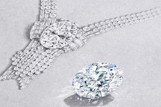 Tiffany&Co. acquista un diamante da 80 carati per la collana più costosa che abbia mai realizzato