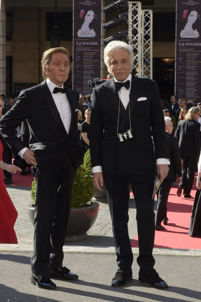 Valentino Garavani e Giancarlo Giammetti