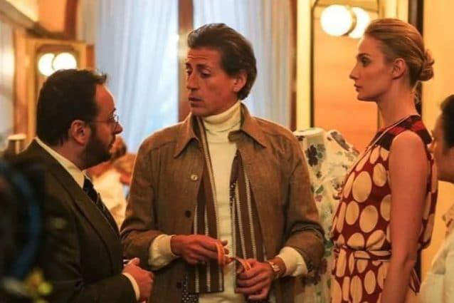 Una scena di Made in Italy: Gianfranco Ferré, Walter Albini e la modella Antonia