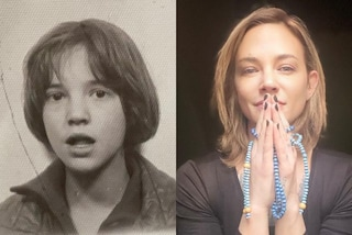 Asia Argento da piccola: quando era bambina portava il caschetto e la frangia