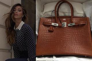Belén Rodriguez ha un nuova borsa di lusso: è una Birkin bag da quasi 30mila euro