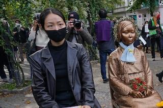 Donne di conforto, schiave sessuali dei soldati: Seul ordina al Giappone di pagare il risarcimento