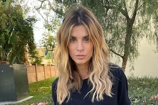 """Elisabetta Canalis vuole tornare mora: """"I capelli biondi sono frutto di un errore"""""""