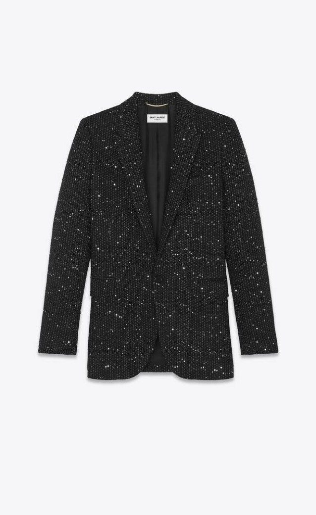 Il blazer di Saint Laurent