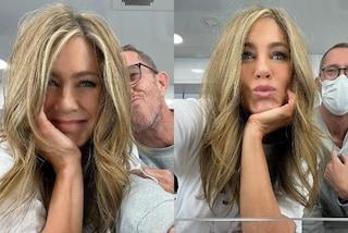 Jennifer Aniston cambia look per il ritorno a lavoro: ora è più bionda che mai
